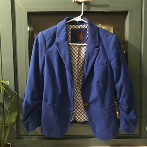 XS Royal Blue Blazer from The Limited